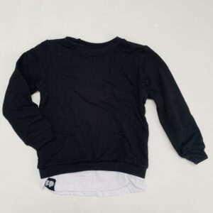 Sweatshirt zwart From Paris 1-2jr