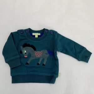 Sweater paardje Kiekeboe 62
