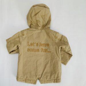 Parka met kap beige Zara 18-24m / 92