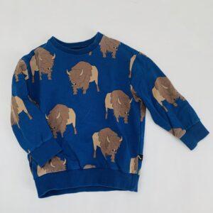 Sweater bizon CarlijnQ 2-4jr / 98/104