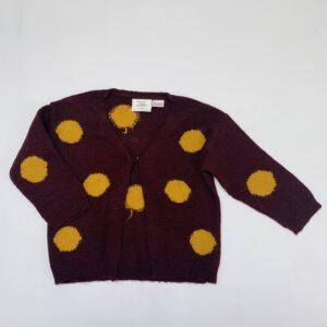 Gilet tricot dots Zara 18-24m / 92