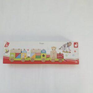 Houten speelgoed trein Janod