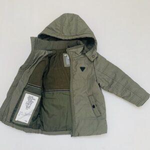 Gevoerde jas met kap stitch JBC 104