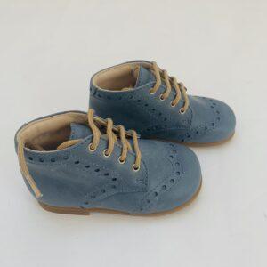 Veterschoenen / eerste stappers blauw Beberlis maat 21