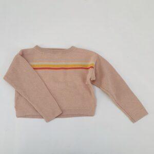Crop sweater tricot pink Filou & Friends 4jr