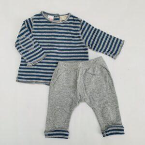 Pyjamaset stripes Zara 1-3m / 62