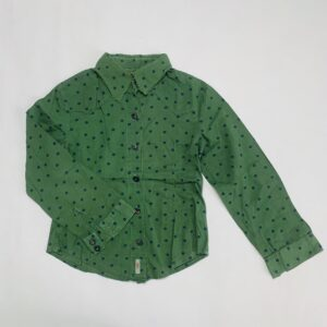 Blouse dots green Bellerose 8jr