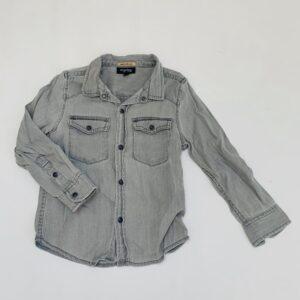 Grijze denim blouse JBC 104