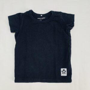 Basic t-shirt zwart Mini Rodini 80/86
