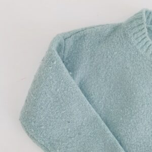 Gilet tricot blauw P'tit Filou 9m