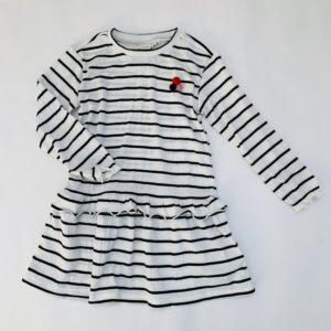Kleedje stripes Name it 110