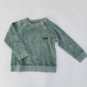 Sweater fluweel glyph Gro Company 86
