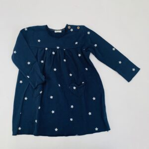 Kleedje longsleeve stars United Colours of Benetton 18-24m
