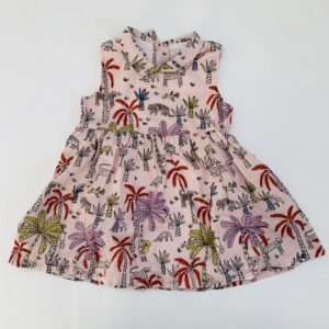 Kleedje sleeveless jungle P'tit Filou 12m