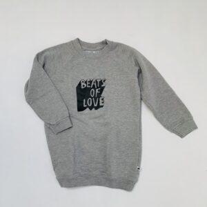 Sweaterdress beats of love Cos I said so 104/110