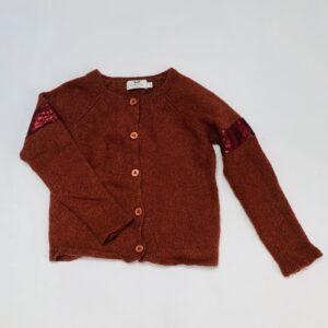 Gilet tricot bruin Cyrillus 4jr