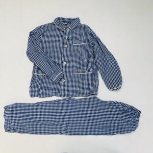 Tweedelige pyjama ruitjes Petit Bateau 8jr / 126