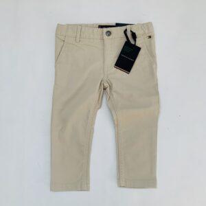 Beige broek aanpasbaar Tommy Hilfiger 92