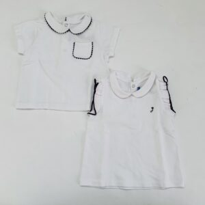 2x shirt wit Jacadi 24m / 88