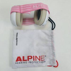 Baby koptelefoon pink  Alpine Baby