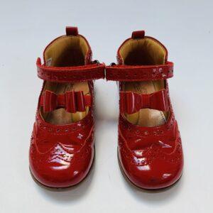 Rode lakschoentjes met gesp Zecchino d'Oro maat 24