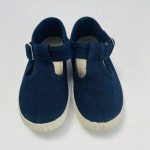 Schoenen met gespje donkerblauw Cienta maat 21