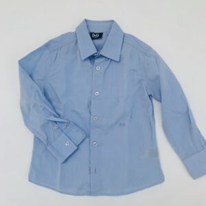Blauw hemd Dolce & Gabbana 2jr