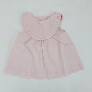 Blouse pink frill Jacadi 24m / 88