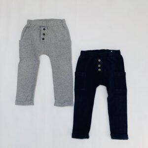 2x sweatpants blauw/beige Gymp 86