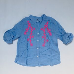 Blouse flowers embroidery JBC 122