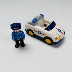 Politiewagen + politieagent Playmobil