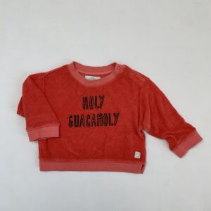 Sweater holy guacamoly Sproet & Sprout 3-6m