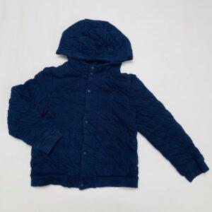 Sweaterjas met kap stitch donkerblauw COS 6-8jr / 122/128