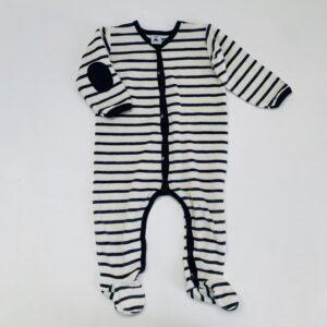 Pyjama velvet marine Petit Bateau 18m / 81