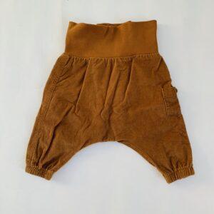Geribd broekje met rekker bruin H&M 1-2m / 56