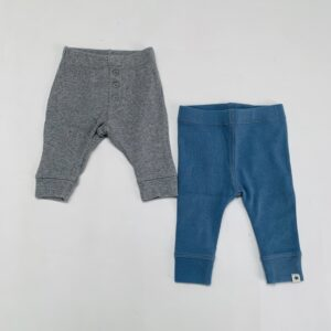 2x basic legging Zara 1x 0-1m / 50 en 1x 1-3m / 62