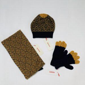 Set muts (M) , sjaal (T2) en handschoenen (T2) Aymara 6-8jr