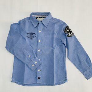 Blauw hemd Pepe Jeans 4jr