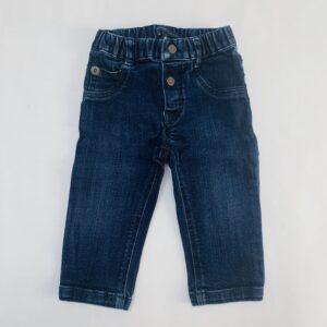 Donkere jeans met knopjes en rekker GYMP 74