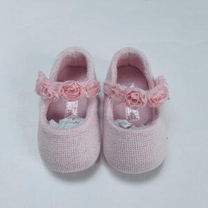 Babyschoentjes tricot pink Mayoral 2-5m / maat 16