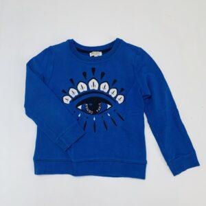 Sweater blauw eye Kenzo 6jr / 116