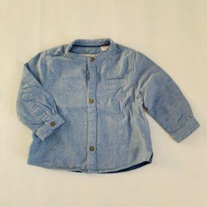 Lichtblauw hemdje Zara 3-6m / 68