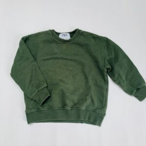 Groene sweater Zara 6jr / 116