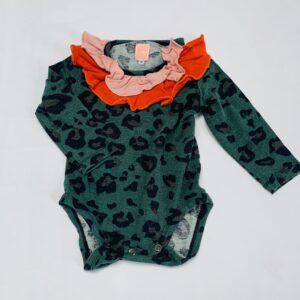 Romper green leopard kraag Bang Bang Copenhagen 74