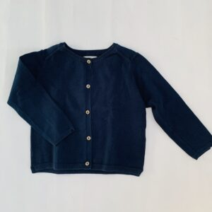 Basic gilet donkerblauw Zara 3-4jr / 104