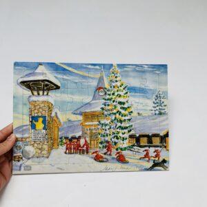 Inlegpuzzel kerst