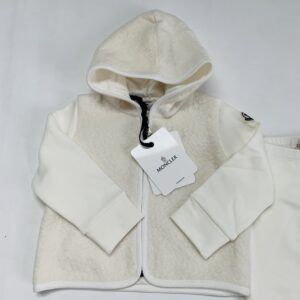 Setje hoodie + broekje ecru Moncler 18-24m / 86
