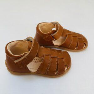 Bruine leren sandalen Ocra maat 20