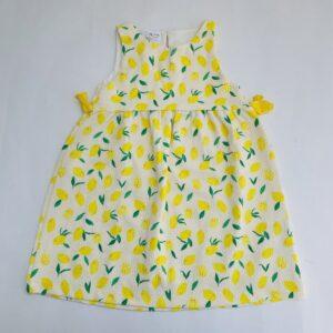 Kleedje sleeveless lemons Zara 4-5jr / 110