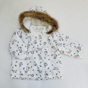 Gevoerde jas fox H&M 9-12m / 80